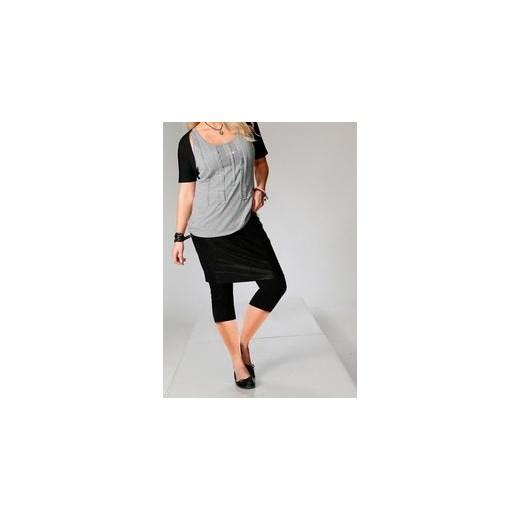 Czarna spódnica ołówkowa SHEEGO duży rozmiar XXL czarny