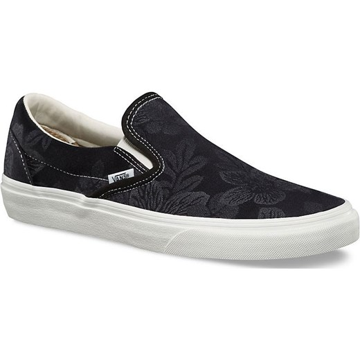 Vans Classic Slip On floral jacquard black Snowboard Zezula