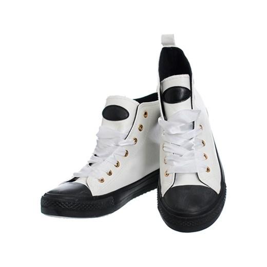 10805c38523d8 ... KOLOROWE TRAMPKI EKOSKÓRA Family Shoes szary 39 ...