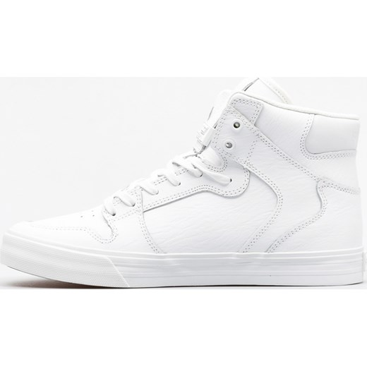 Buty Supra Vaider (white/white red) bialy Supra 45 SUPERSKLEP