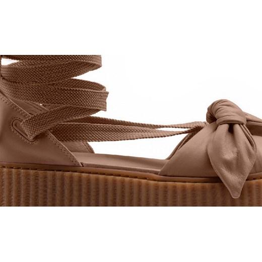6f5012bce052 ... Buty damskie Puma X Fenty Rihanna Bow Creeper Sandal 365794 03 Puma  brazowy 37 okazja sneakerstudio