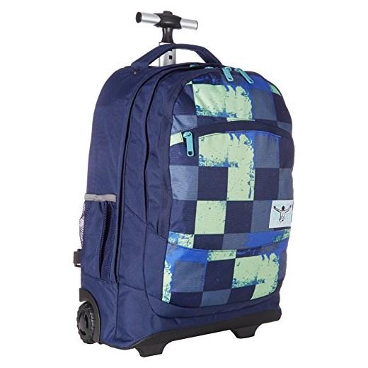 c938eb623874c Chiemsee plecak Wheely Solid z drążek teleskopowy i rolki