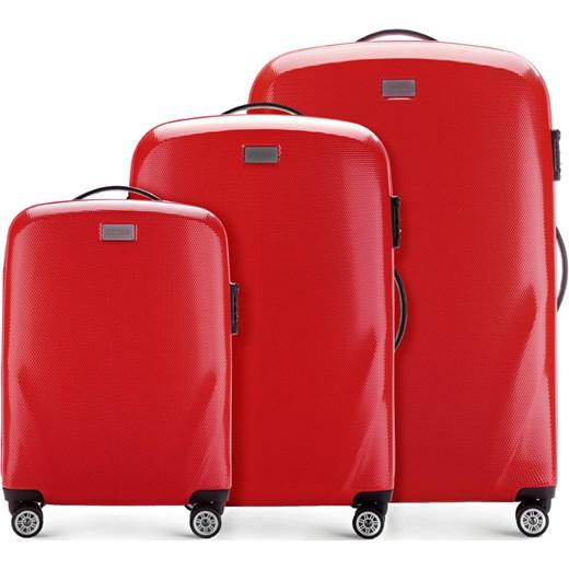 5a7f2fed9bbce 56-3P-57S-30 Set walizek Wittchen czerwony promocyjna cena ...