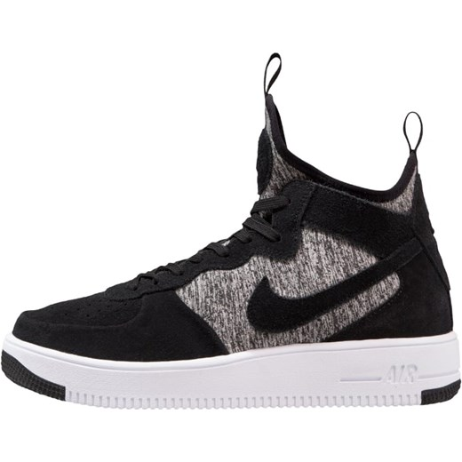 huge selection of 4bb72 2f73e Nike Sportswear AIR FORCE 1 ULTRAFORCE MID PRM Tenisówki i Trampki wysokie  black/white Nike ...