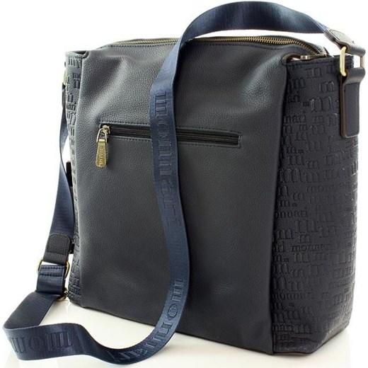 d70a1780c9366 ... MONNARI Sportowa torba na ramię listonoszka A4 granatowy Monnari szary  One Size merg.pl ...