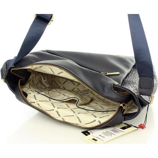 e7ee13fa2aaf0 ... MONNARI Sportowa torba na ramię listonoszka A4 granatowy zielony Monnari  One Size merg.pl ...