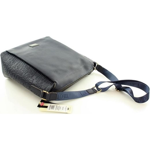 8daf8fdb4894a ... MONNARI Sportowa torba na ramię listonoszka A4 granatowy Monnari szary  One Size merg.pl