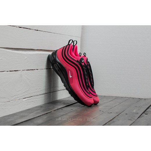 Nike Air Max 97 Ultra 17 (GS) Black Racer Pink White czerwony Footshop