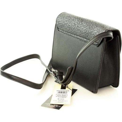 50e5e38bbb6a6 ... MONNARI Elegancka listonoszka kopertówka czarna bialy Monnari One Size  okazyjna cena merg.pl ...