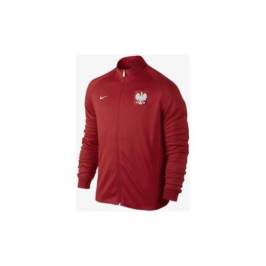 41653176d Bluza Reprezentacji Polski AUTH N98 TRK JKT Nike czerwony M Perfektsport