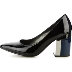 8006faaff1b39 Czarne buty damskie primamoda