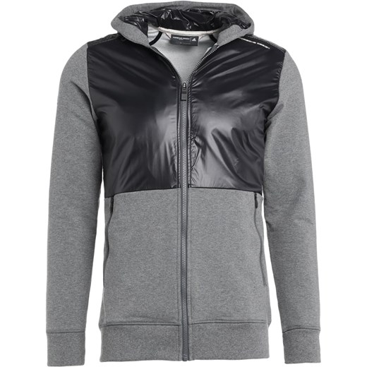 6fc4ccc8b1 Porsche Design Sport by adidas Bluza rozpinana dark grey heather black  Porsche Design Sport By ...