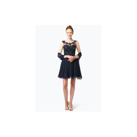 e65f19acfc Niente - Elegancka sukienka damska z etolą