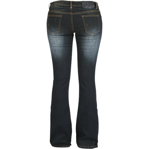 80% ZNIŻKI Jeansy damskie Red By Emp - Odzież Damska TF granatowy Jeansy damskie KIHI
