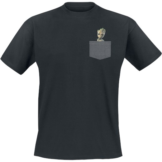 9976b3a93 Guardians Of The Galaxy 2 - Groot T-Shirt czarny Guardians Of The Galaxy M  ...