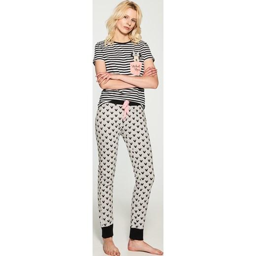 3efb01e47e4456 House - Długie spodnie piżamowe minnie mouse Szary w Domodi