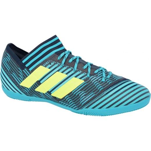 Halówki adidas Nemeziz Tango 17.3 IN BY2462 turkusowy UrbanGames