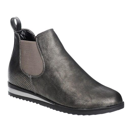 de1fd6e7e2e42 BOTKI SZTYBLETY SPORTOWE SZARE szary Family Shoes w Domodi