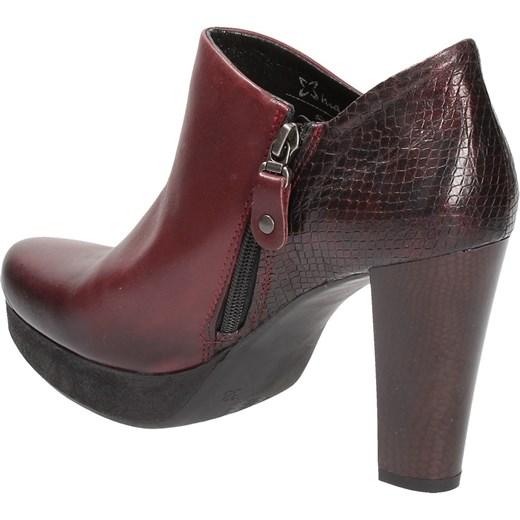 66d5fe1977ee3 ... Bordowe botki damskie MACIEJKA Maciejka 39 Wojtowicz Awangarda Shoes ...