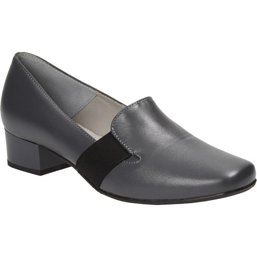 76f8510c0622e ... Grafitowe półbuty damskie PESCO Pesco 40 Wojtowicz Awangarda Shoes ...