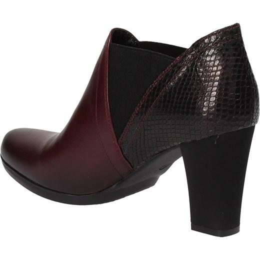 f9bbcacf65daf ... Bordowe botki damskie MACIEJKA Maciejka 37 Wojtowicz Awangarda Shoes ...