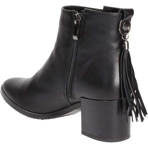 a6c10800afc34 Domodi Damskie Awangarda Wojtowicz W Czarne Botki Shoes xnvYwqWFa