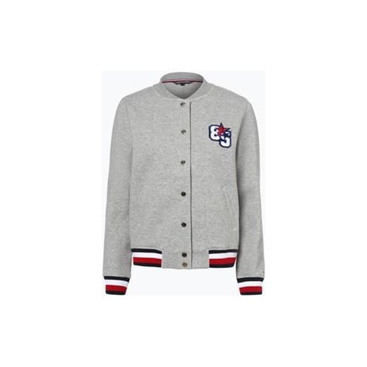 b99010a10f343 Tommy Hilfiger - Damska bluza rozpinana – Tammy Bomber LS, szary Tommy  Hilfiger szary XS