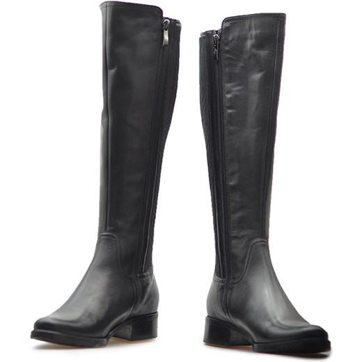 fad95561b20be ... Kozaki Arka BI2789/308+733 Czarne lico Arka Arturo-obuwie ...