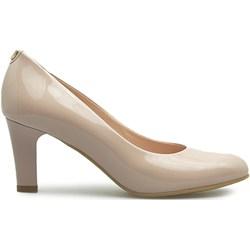 448b779d KOTYL 5871 PERŁA LICO - Skórzane buty ślubne doskonałe do tańca ...
