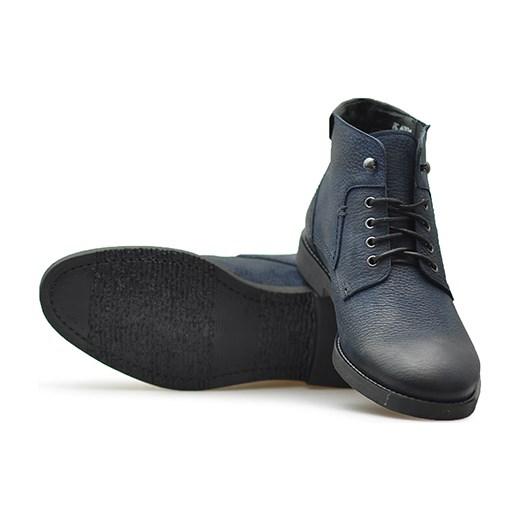 970d9cd69faabe Trzewiki Pilpol PC6004/M208 Granatowe nubuk Pilpol szary Arturo-obuwie ...