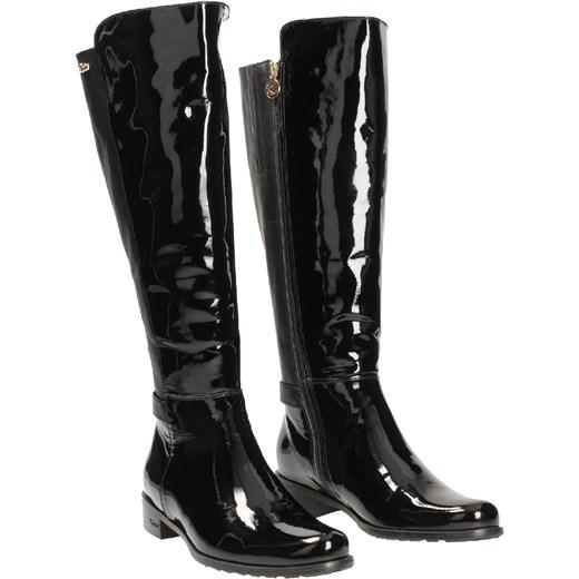 a08428556a533 ... Czarne kozaki damskie KARINO czarny Karino 38 Wojtowicz Awangarda Shoes