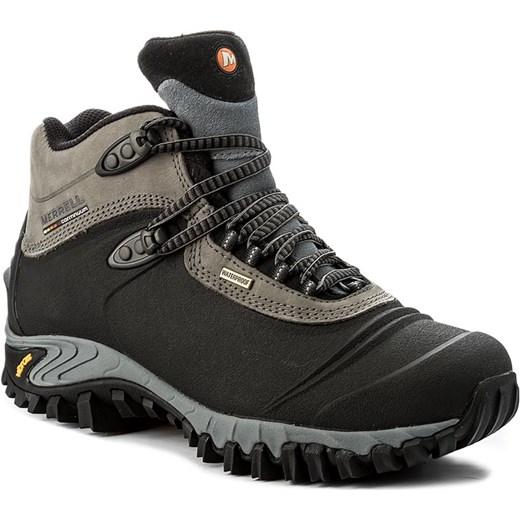 Trekkingi MERRELL - Thermo 6 Waterproof J82727 Black Merrell szary 48  eobuwie.pl 6f2d9564b3e