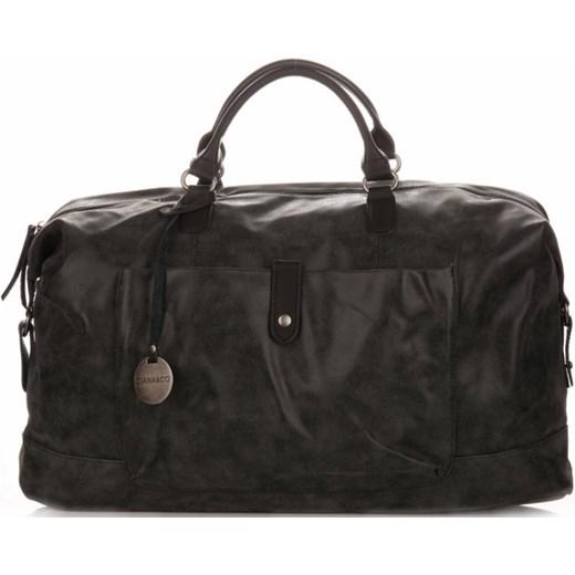 726722b771700 Duża Torba Damska XXL Torba Podróżna Diana&Co w stylu Vintage Czarna  (kolory) Diana&Co czarny ...