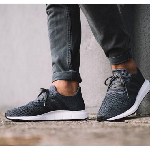 0dec158c9 Buty męskie sneakersy adidas Originals Swift Run CG4116 szary  sneakerstudio.pl