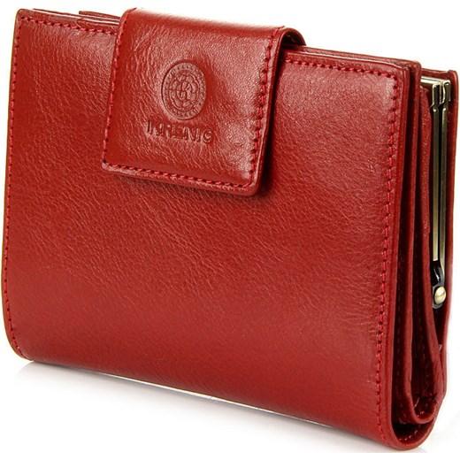 16d153c0b67b7 ... KRENIG Classic 12013 czerwony portfel skórzany damski w pudełku  skorzana-com czerwony damskie ...