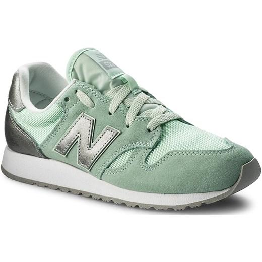 tanie z rabatem buty do biegania popularna marka 70% ZNIŻKI Sneakersy NEW BALANCE - WL520SNB Zielony eobuwie ...