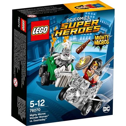 Klocki Lego Super Heroes Mighty Micros Wonder Woman Kontra Doomsday 76070 Oficjalny Sklep Allegro
