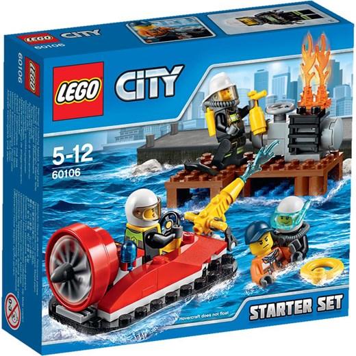Klocki Lego City Strażacy Zestaw Startowy 60106 Oficjalny Sklep