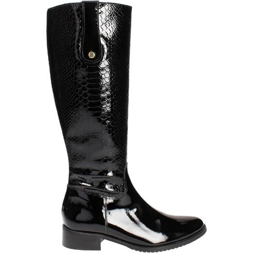 04ecd8bb5ea17 Czarne oficerki damskie POLAŃSKI R. Polański czarny 37 Wojtowicz Awangarda  Shoes ...