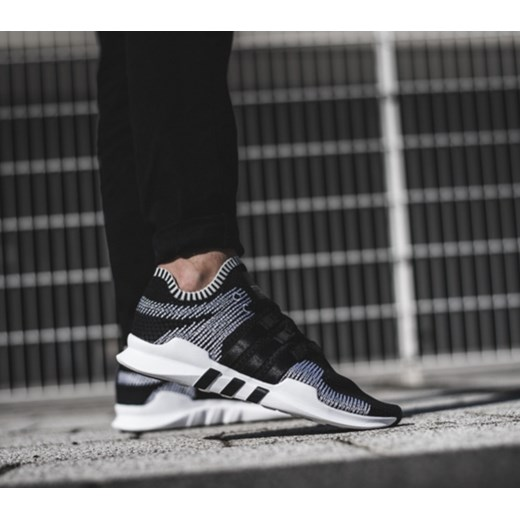 Buty męskie sneakersy adidas Originals Equipment Support Adv Primeknit BY9390 CZARNY sneakerstudio.pl