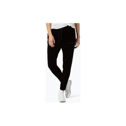 Damskie spodnie dresowe Adidas Dresy damskie czarne w van Graaf
