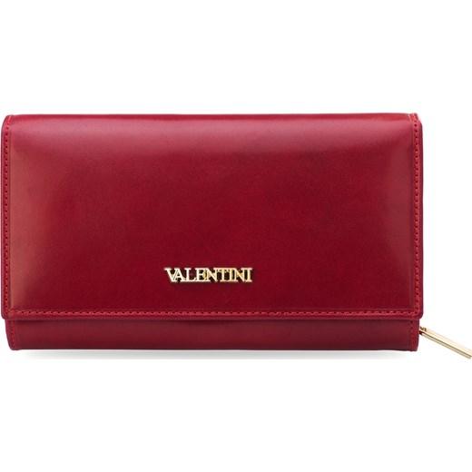 2521cf3569456 Czerwony skórzany portfel damski vera pelle czerwony world-style.pl ...