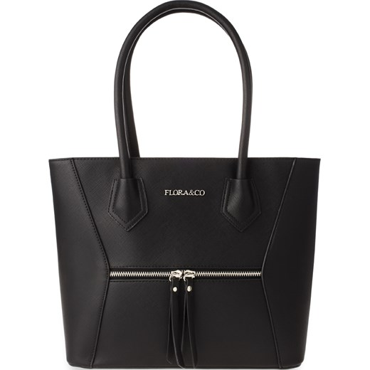 ea0c3d7554595 Klasyczna torebka damska shopper bag flora bialy world-style.pl w Domodi