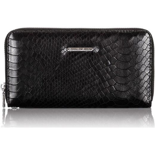5b1067db99621 ... Skórzany portfel damski skóra wężowa kopertówka Jennifer Jones One Size  merg.pl ...