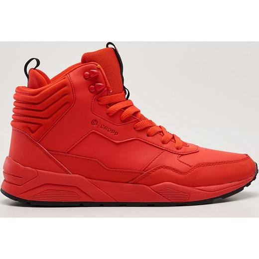 Buty Adidas męskie czerwone za kostkę• sklep internetowy