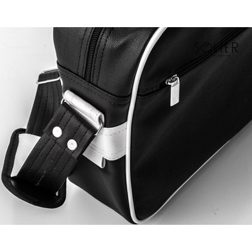 b6dec7c44dfa0 ... EMILIO Młodzieżowa torba na ramię Messenger Solier czarny One Size  merg.pl ...