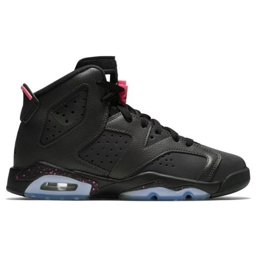 35505de7997fc2 Buty damskie Air Jordan 6 Retro GG Hyper Pink - 543390-008 czarny Jordan 36