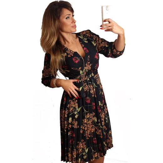 47646ce303 SUKIENKA BETTY PLISOWANA CZARNA czarny Likeme Fashion uniwersalny  LikeMeFashion ...
