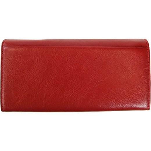 7cd6bf9591fee 1. KRENIG Classic 12026 czerwony portfel skórzany damski w pudełku  skorzana-com czerwony miejsce ...