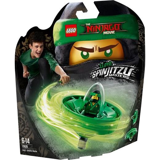 Klocki Lego Ninjago Movie Lloyd Mistrz Spinjitzu 70628 Zielony